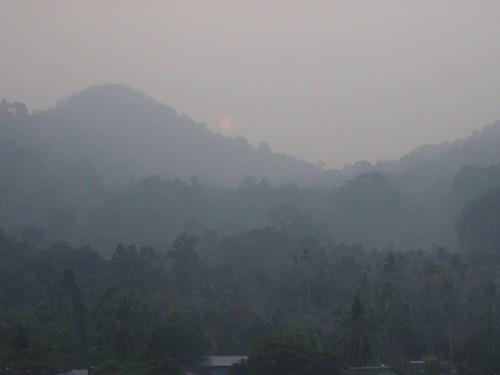 Amanece en Pulau Tioman