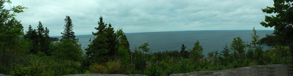 Look out Pano Lake Superior