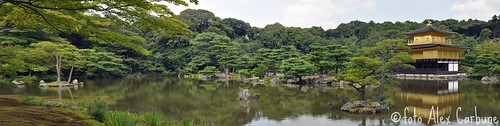 Kinkaku-ji [ Golden Pavilion ]  Panorama