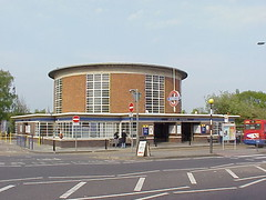 Arnos Grove Tube Station, London