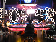 the final table (Liz Lieu) Tags: liz lieu moviefilming lizlieu pokerdiva propokerplayer chinesecelebrities pokercompetition hongkongstudio pokerkingmovie finaltablescene