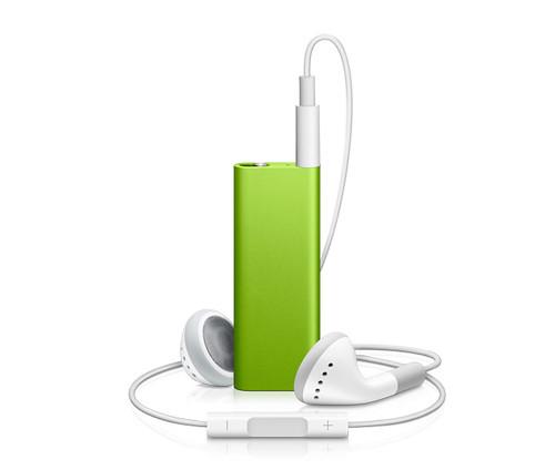 iPod Shuffle verde green