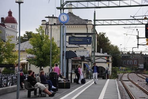 Lund駅から