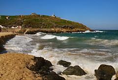 St. Ives_D8178 (Ennor) Tags: uk sea beach geotagged sand cornwall unitedkingdom september stives 2009 kernow porthgwidden britishseascapes geo:lat=50217255 geo:lon=5475762
