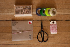 correspondence packaging (Celine Kim) Tags: post snailmail