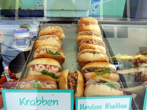 Wide Variety of Seafood Sandwiches