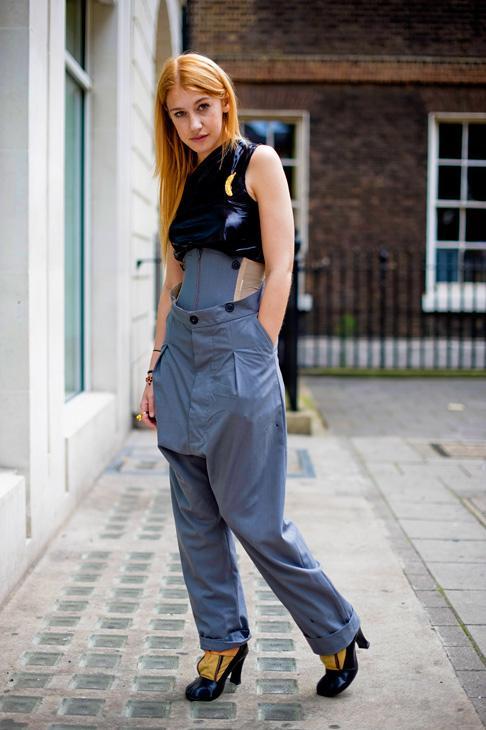 Vivienne Westwood corset trousers 2