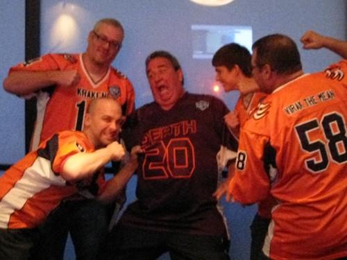 Gary Leland of SportsJunk.com gets whipped