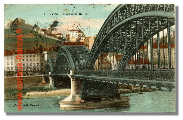 31 LYON Pont de la Boucle