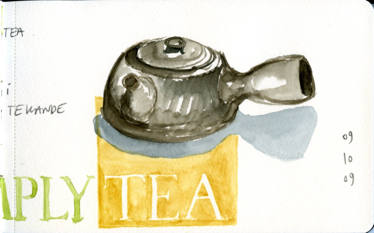 simply tea, detail right