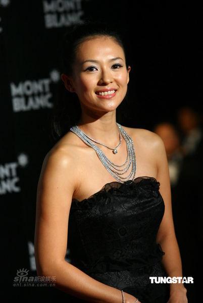 Actress at Mont Blanc