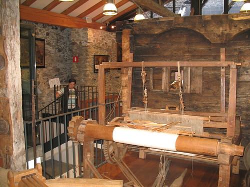 Das sehr modern ausgeführte Museum bietet unter andem auch interessante Einblicke in alte, längst vergessene Handwerkswelten