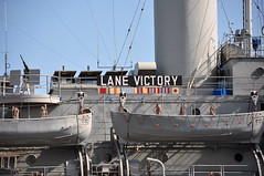 S.S. Lane Victory (Hollywood History Tours) Tags: pearlharbor titanic jamescameron movielocations laharbor u571 lanevictory victoryship gijane flagsofourfathers thethinredline sslanevictory thecuriouscaseofbenjaminbutton hollywoodhistory famousships ericgardner hollywoodtours nikond90club movietvlocationsdatabase historicwwiiships