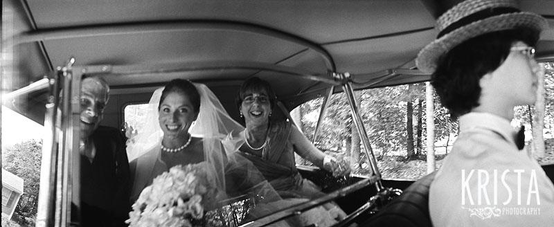Concord Wedding - Black & White FILM