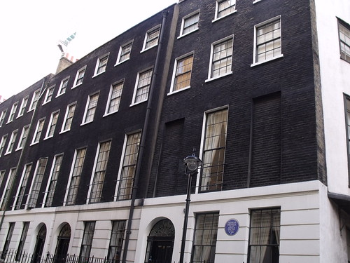 25 Craven Street, London - former home of Herman Melville