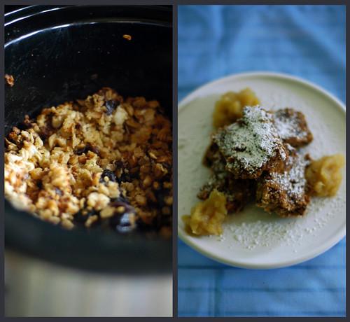 baked oats become oatmeal bars