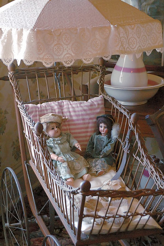 Chatillon - DeMenil House, in Saint Louis, Missouri, USA -  dolls