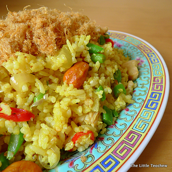 Pineapple Fried Rice 2 P1080337