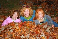 Cathie, Maddie and Em