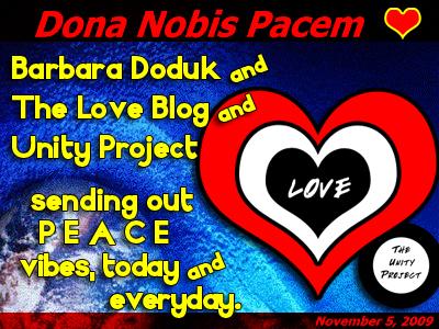 LoveBlog-PeaceGlobe-2009