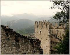 Arco, Italy, castle (sovcsil) Tags: castles landscape picturesque theunforgettablepictures shutterbox