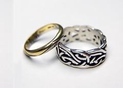macro ring aliança anel