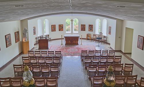 Saint Meinrad Archabbey, in Saint Meinrad, Indiana, USA - Saint Joseph's Chapel