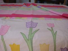 Detalhe das tulipas (Fazendo arte com amor (Inger)) Tags: flower flor quilting patchwork colcha costura trabalhosmanuais