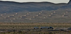 Nellis Air Force Base...Las Vegas Nevada (DJ MacTrucker) Tags: truck lasvegas aircraft nevada tanker trucking i15 worldtruck hrivertovernon