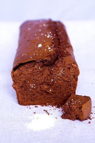Torta cioccolato e fleur de sel ovvero l'am♥re è il sale della vita :)
