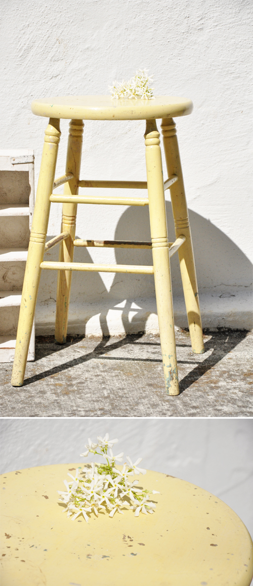 Yellow-Stool