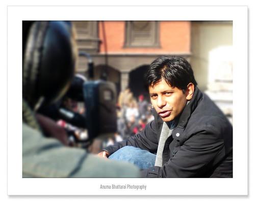Reporter @ Pashupati !!