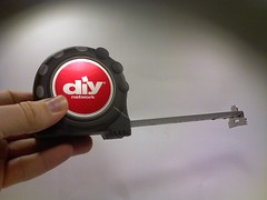 DIY Network tape measure