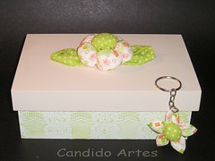 Kit presente (Candido Artes) Tags: chaveiro caixadecorada