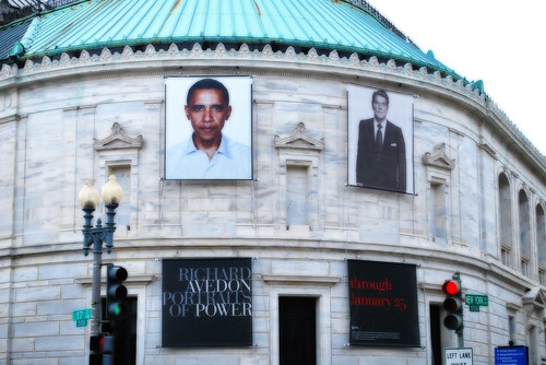Obama on Corcoran Gallery 077801