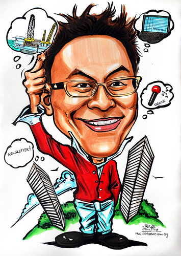 Caricature for Transocean Eastern Pte Ltd - Gateway