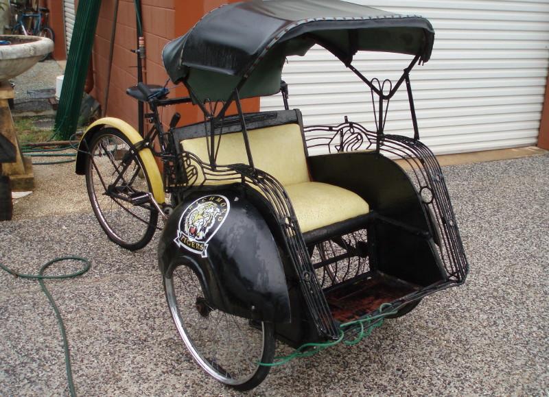 Tiger's Rickshaw - Bali Gallery