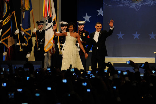 Inauguration Day 2009: The Obamas at the Home States Ball by USA TODAY.