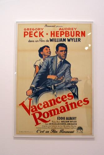 """Cartel de """"Vacaciones en Roma"""""""