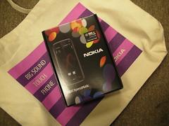 Nokia 5800 XpressMusic box