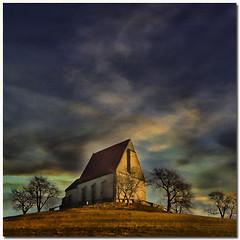 On the top of the hill (pixel_unikat) Tags: sky tree texture square austria bravo hill chapel soe tex