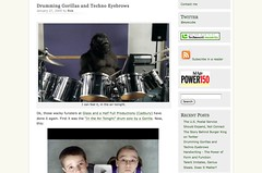 Drumming Gorillas and Techno Eyebrows « eyecube_1233267243753