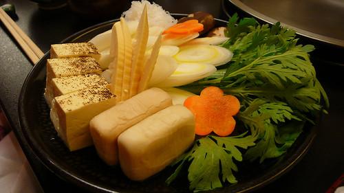 壽喜燒配菜