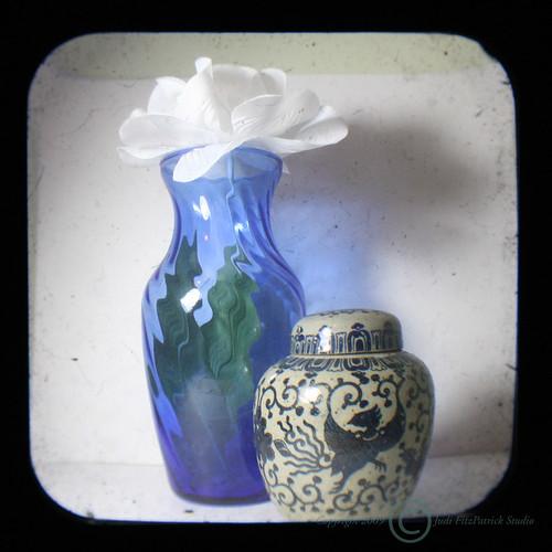 Day 150 - 02/01/2009 Still Life with Blue Vase TTV