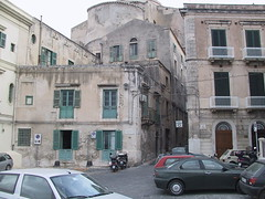 Rear of Duomo of Siracusa