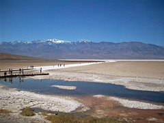 Badwater Basin in Death Valley (AlishaV) Tags: california death march desert 18th valley deathvalley southerncalifornia monday 2009 mojavedesert badwaterbasin