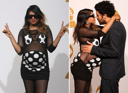 M.I.A.'s Maternity Wear: A Retrospective