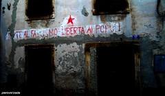 ISTRIA: ...E COSI' FU FATTO... (pierovis'ciada) Tags: graffiti casa propaganda finestra tito porte comunismo istria istra gilas scritte terrore jugoslavia abbandono istrien dignano esodo istriani istroveneti ecosfufatto