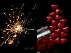 Joyeux Anniversaire! ;'** (A.Alkhulaifi) Tags: life birthday canon hearts happy 350d day lulu glad wish aalkhulaifi abwall