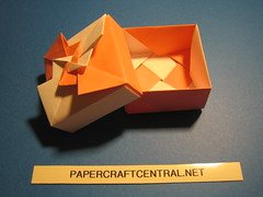 Origami Box - Fancy Pinwheel (PaperCraftCentral_dot_net) Tags: origami box tomoko fuse paperbox tomokofuse origamibox